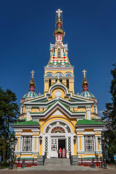 Russian Orthodox Church in Almaty