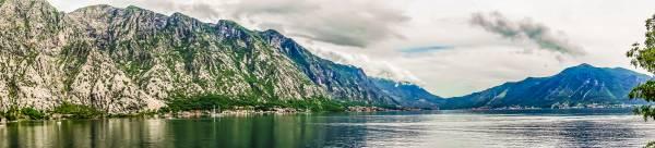 Kotor Bay Panorama