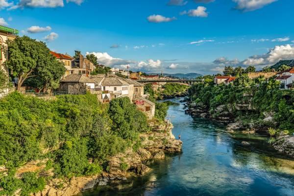 Mostar Bidge View