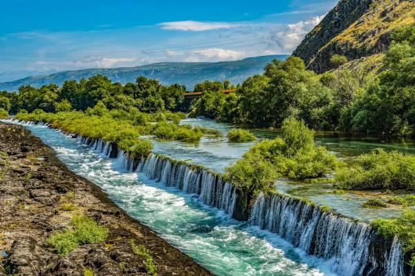 Camping close to Mostar