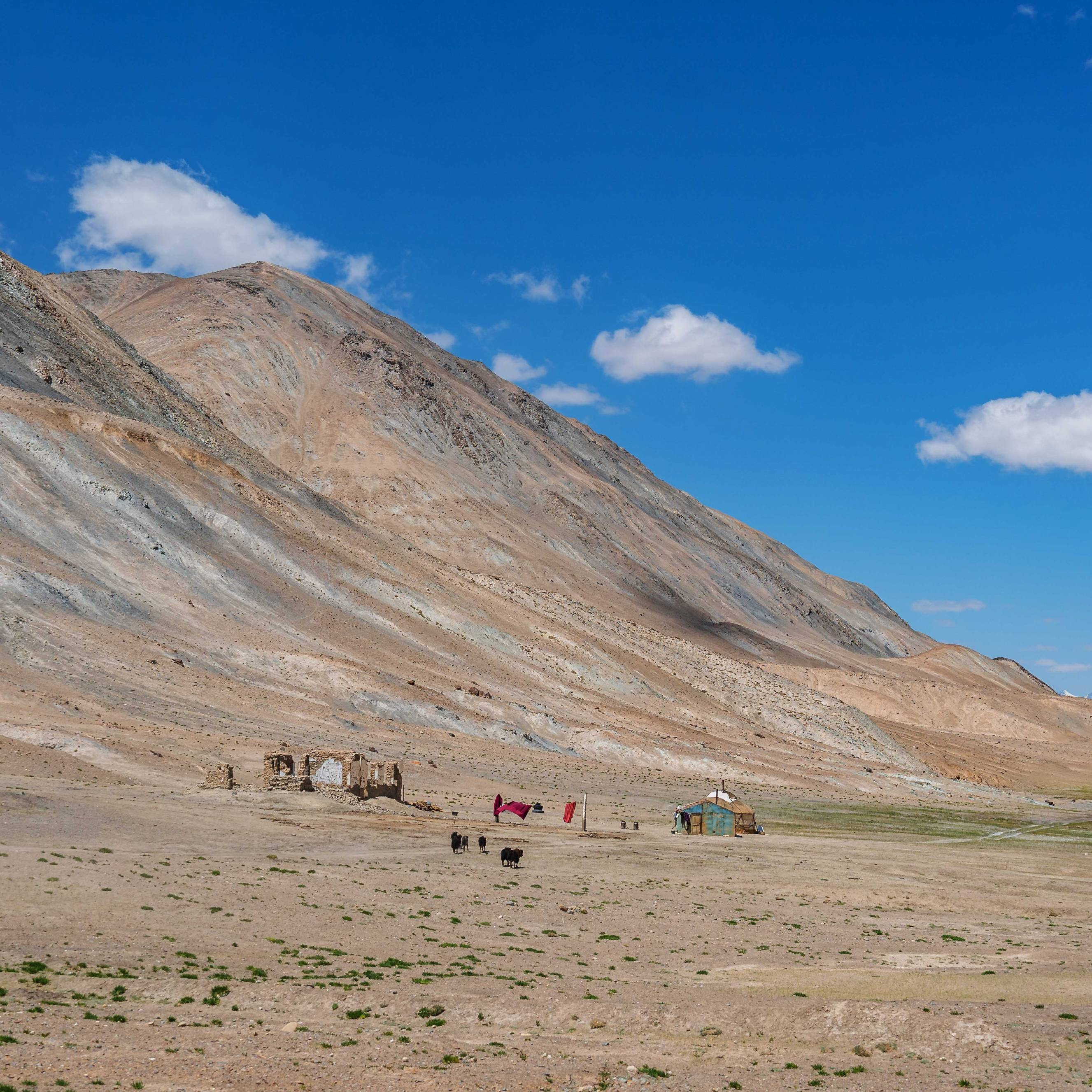 Pamir Highway views