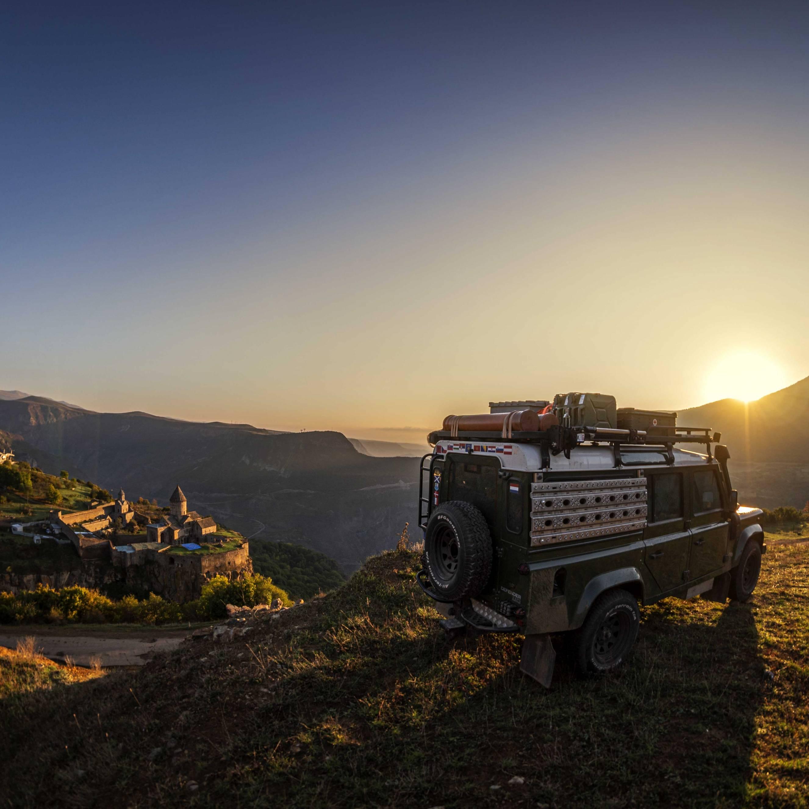 Camping at Tatev Monestary