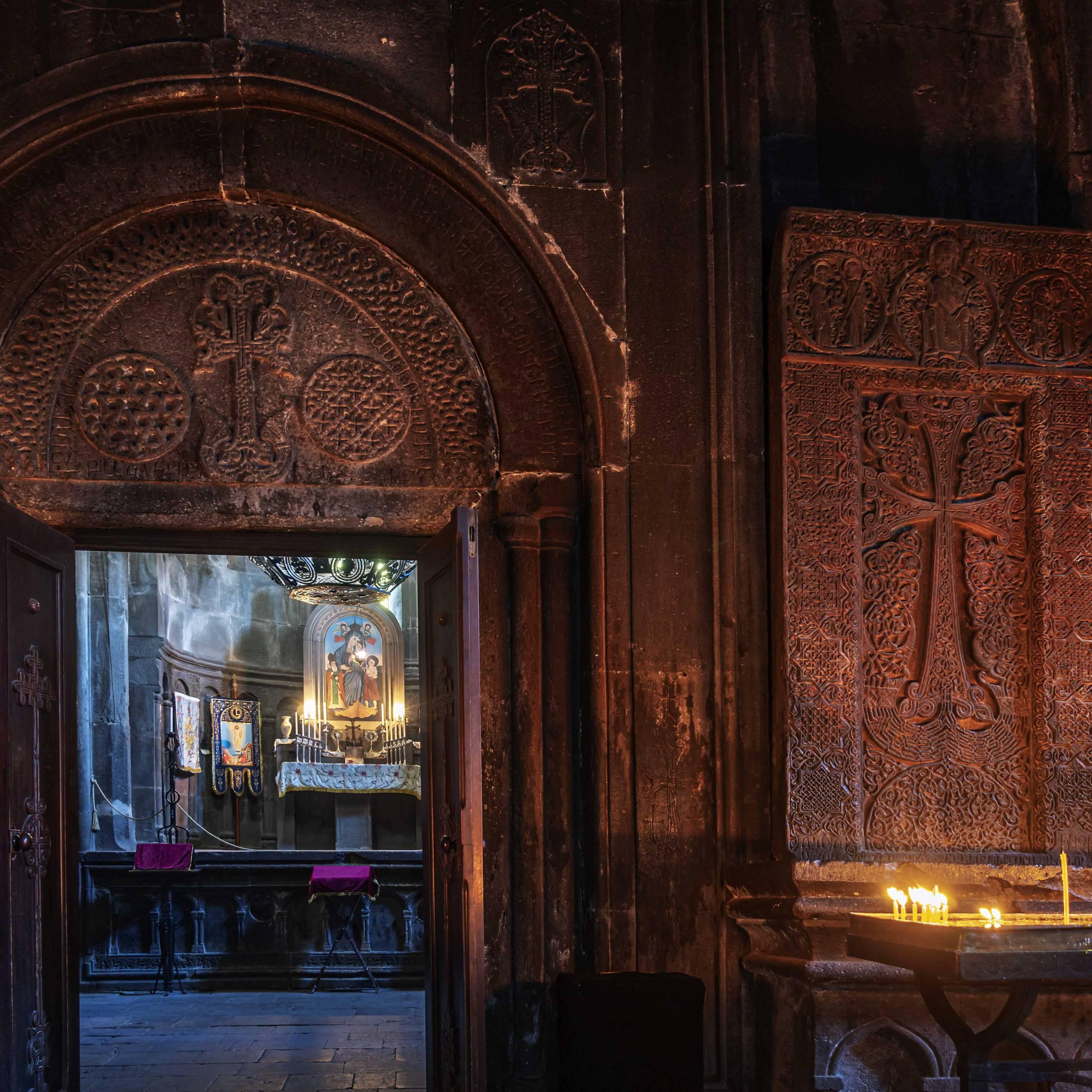 The Katoghike Chapel of Geghard Monestary