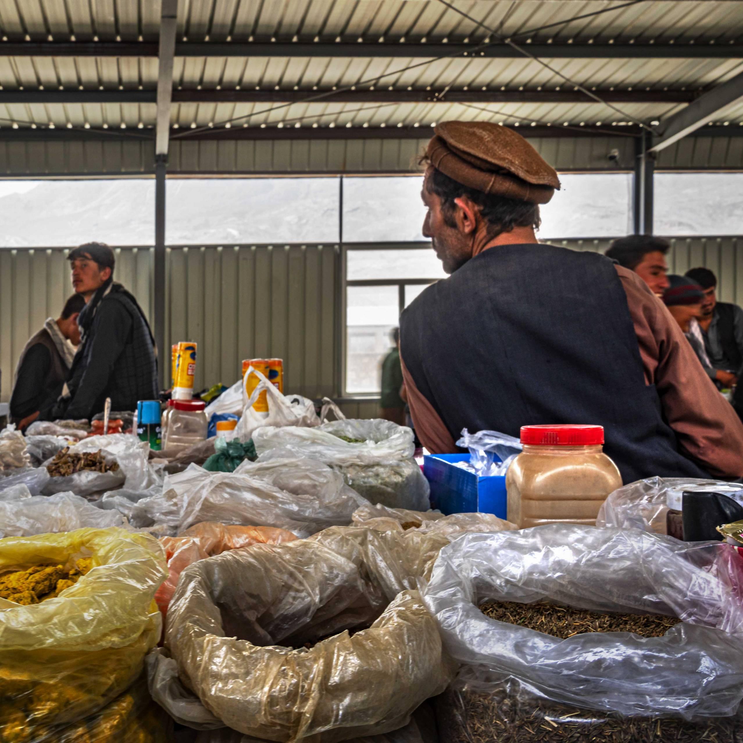 Afghan Market in Ishkashim