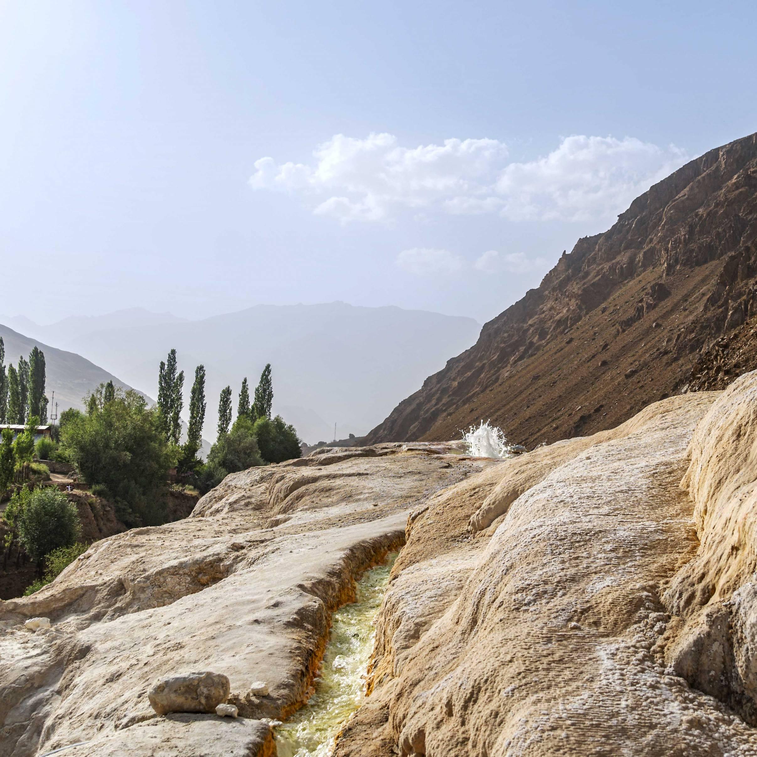 Hot Sulfur Spring Garm Chashma