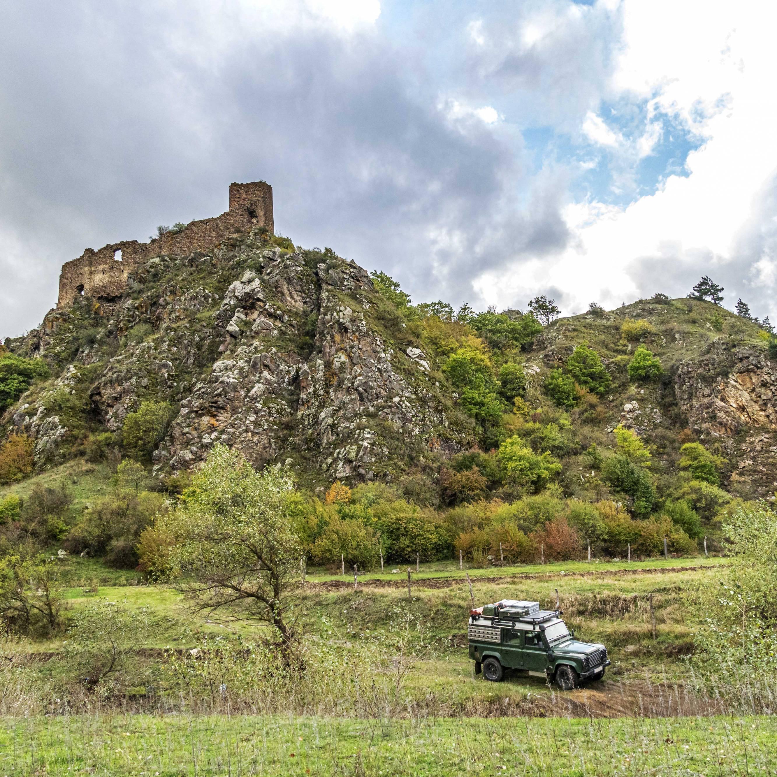 Camping spot in Javakheti