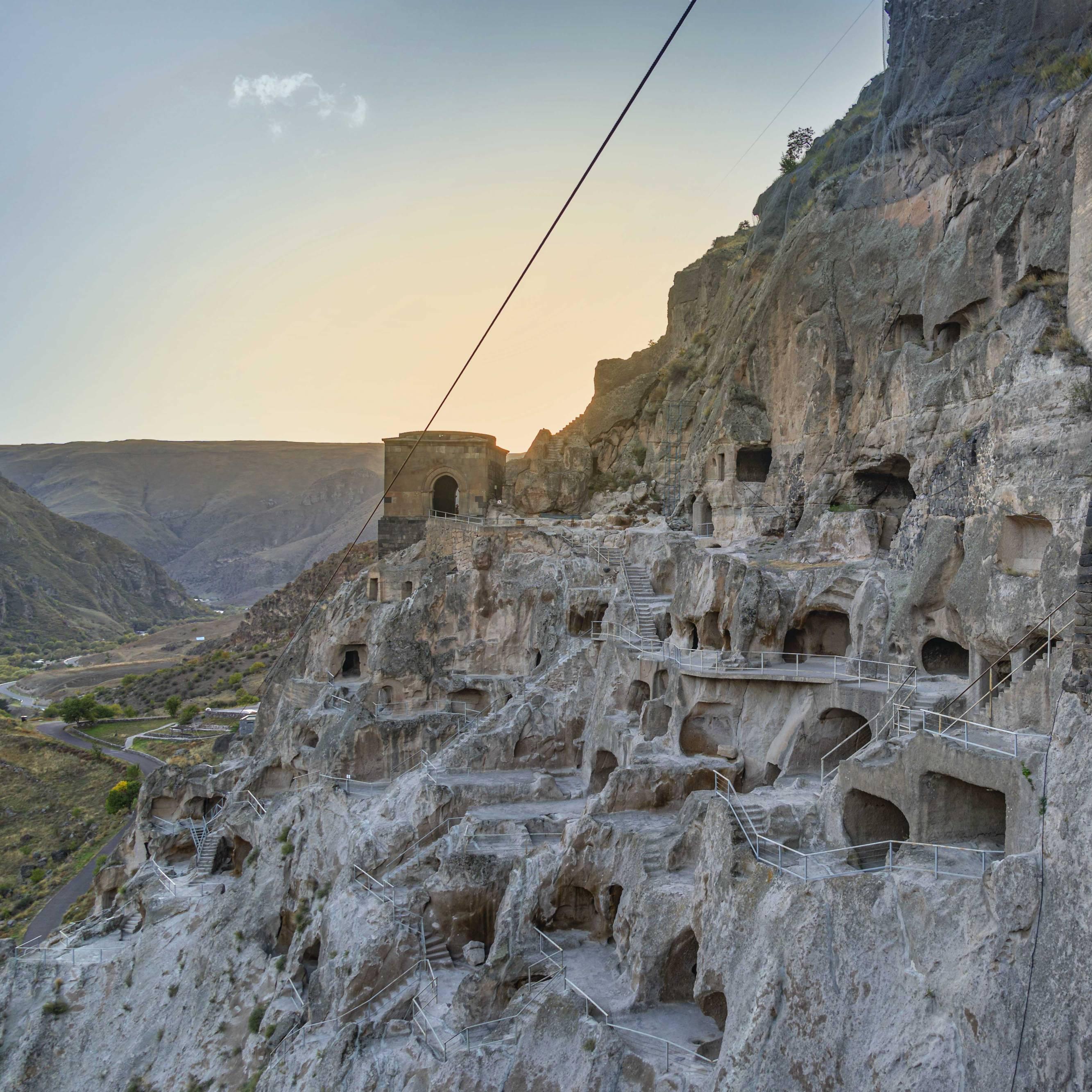 Vardzia Cave Monestary in Southern Georgia