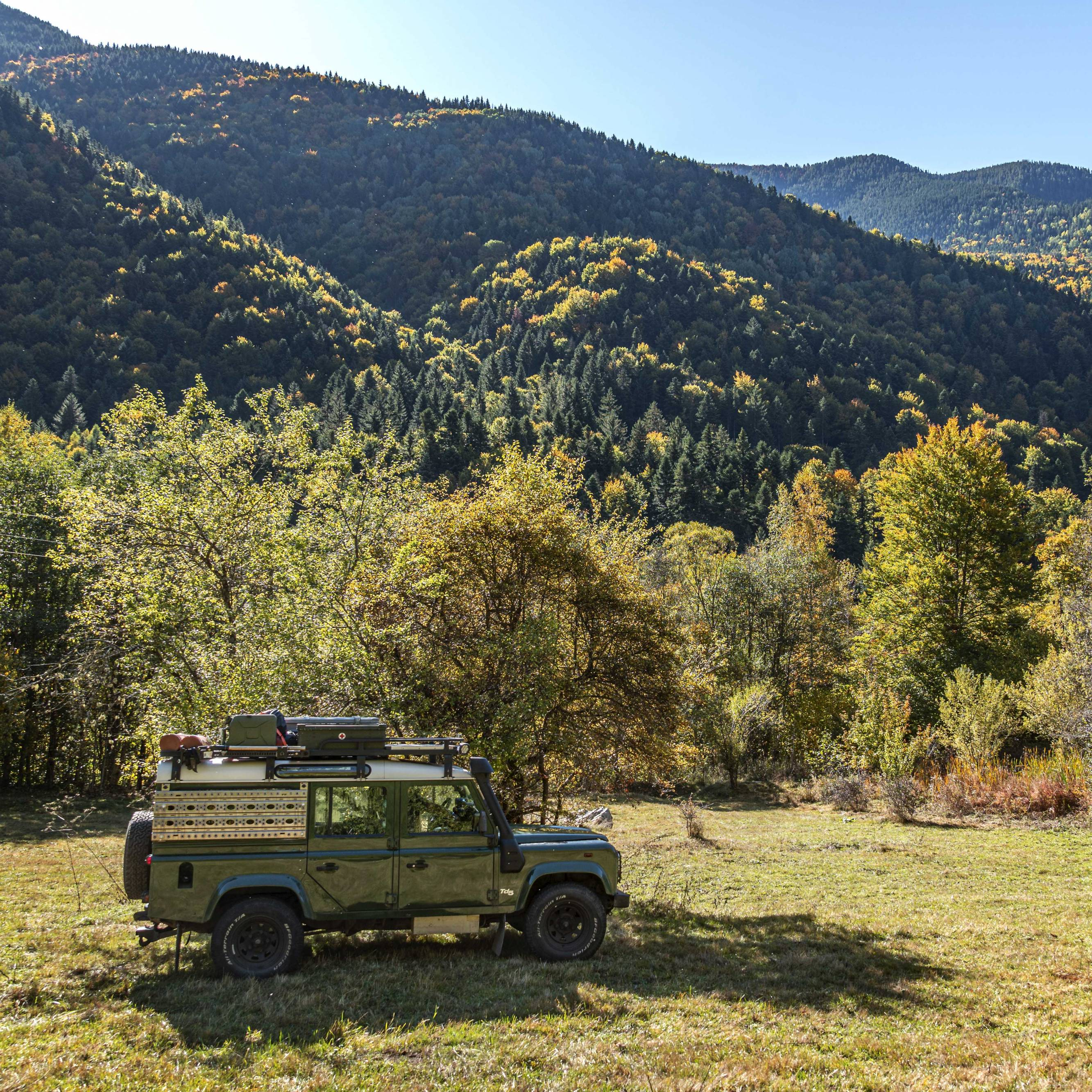 Camping in the Rila Mountains, Bulgaria