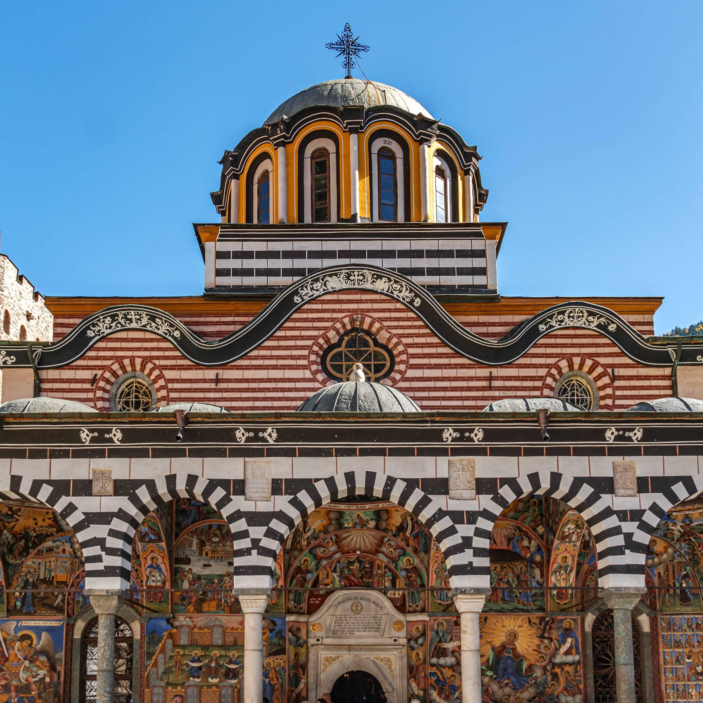 UNESCO World Cultural Heritage Rila Monestary, Bulgaria