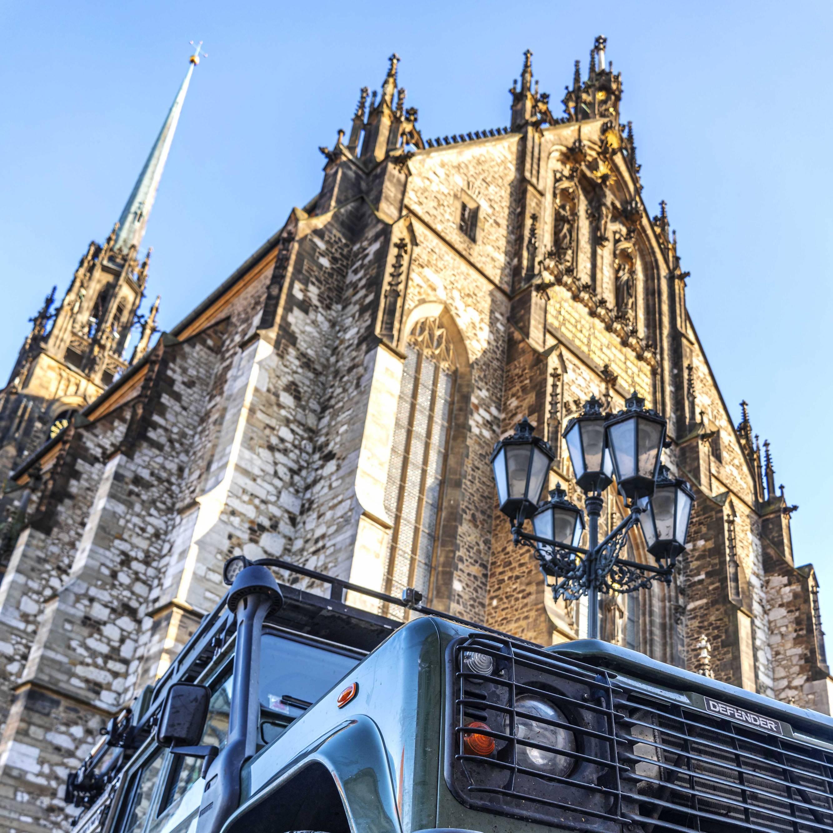 St. Peter und Paul Cathedral in Brno, Czech Republic
