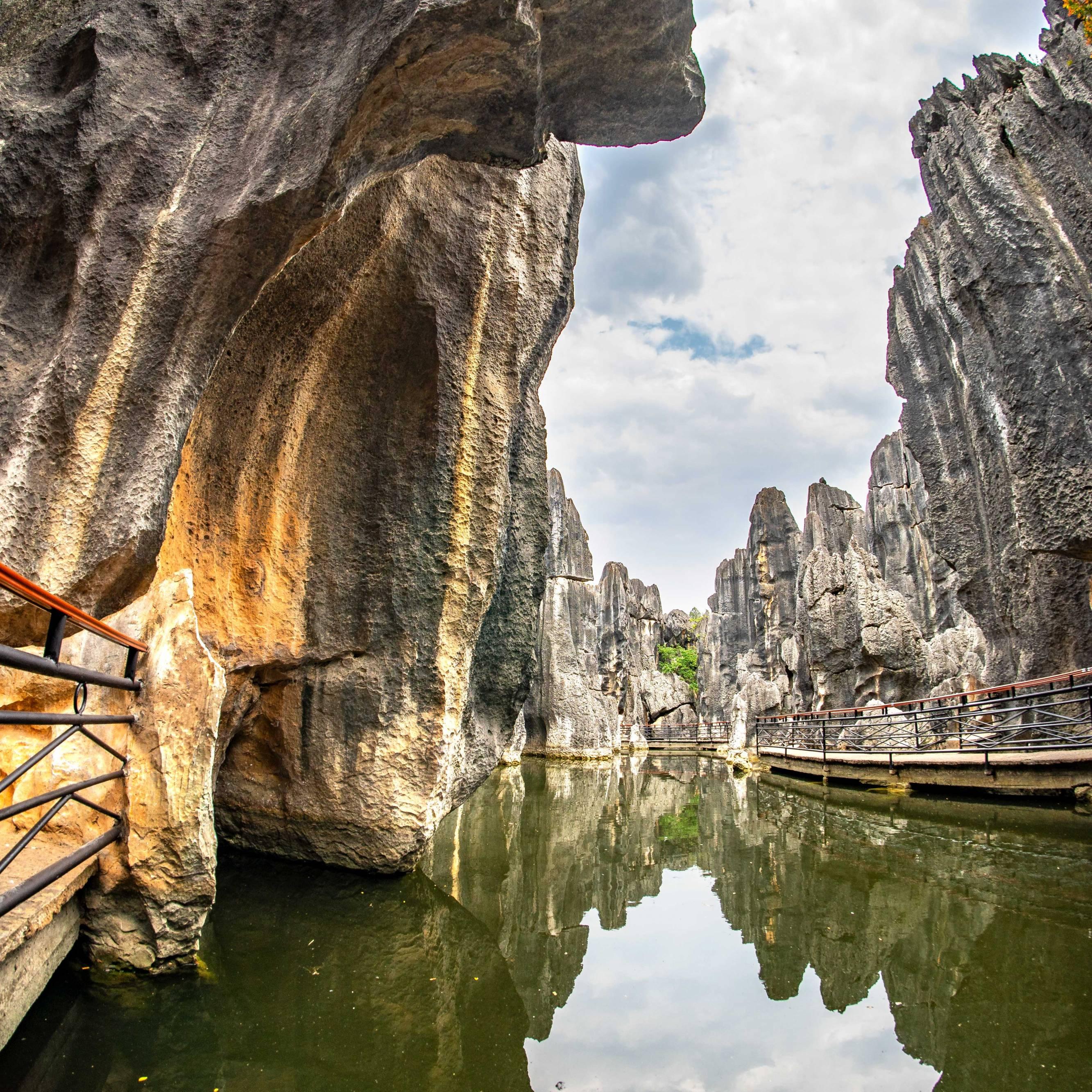 Stone Forrest, Shilin, Province Yunnan