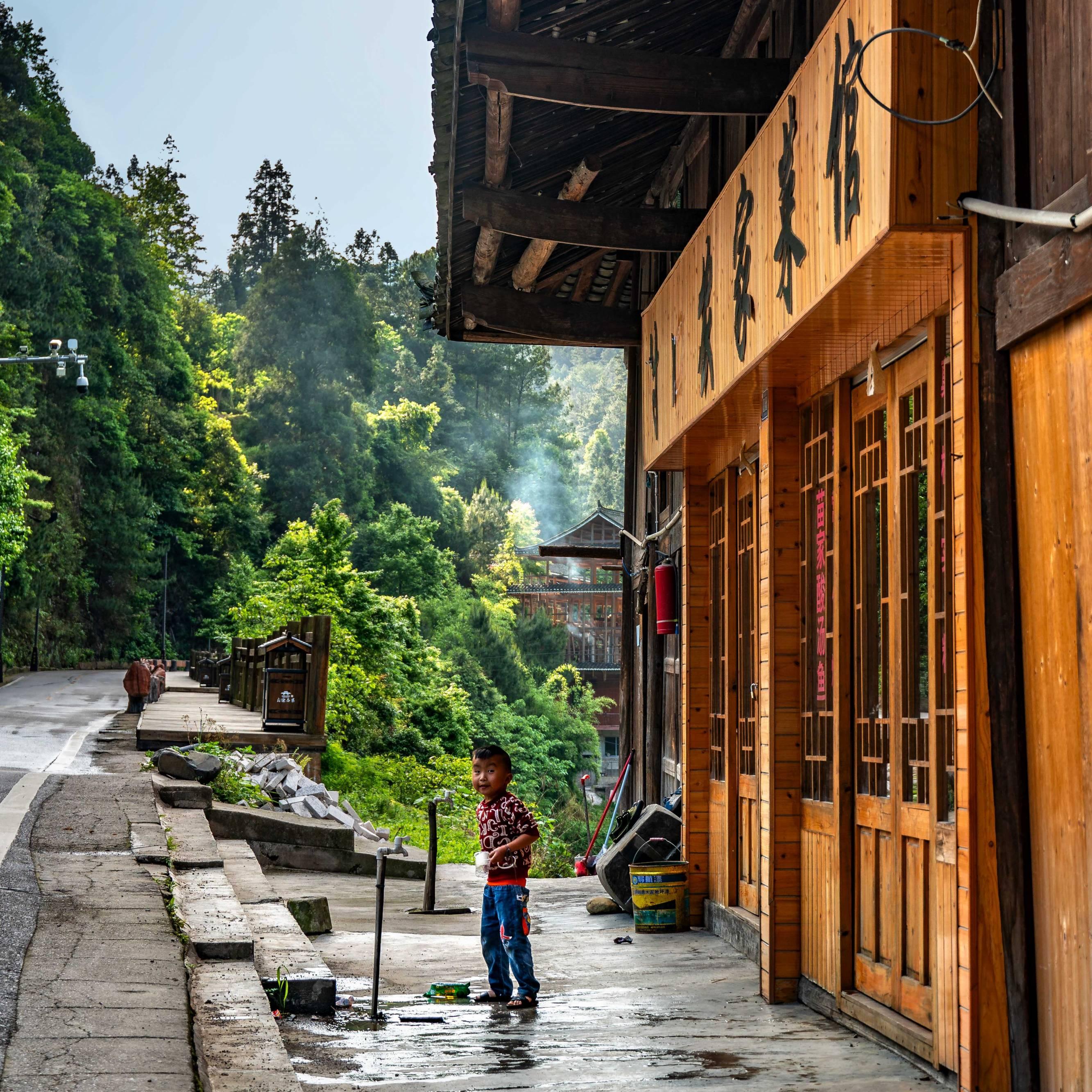 Dong Village, Province Yunnan
