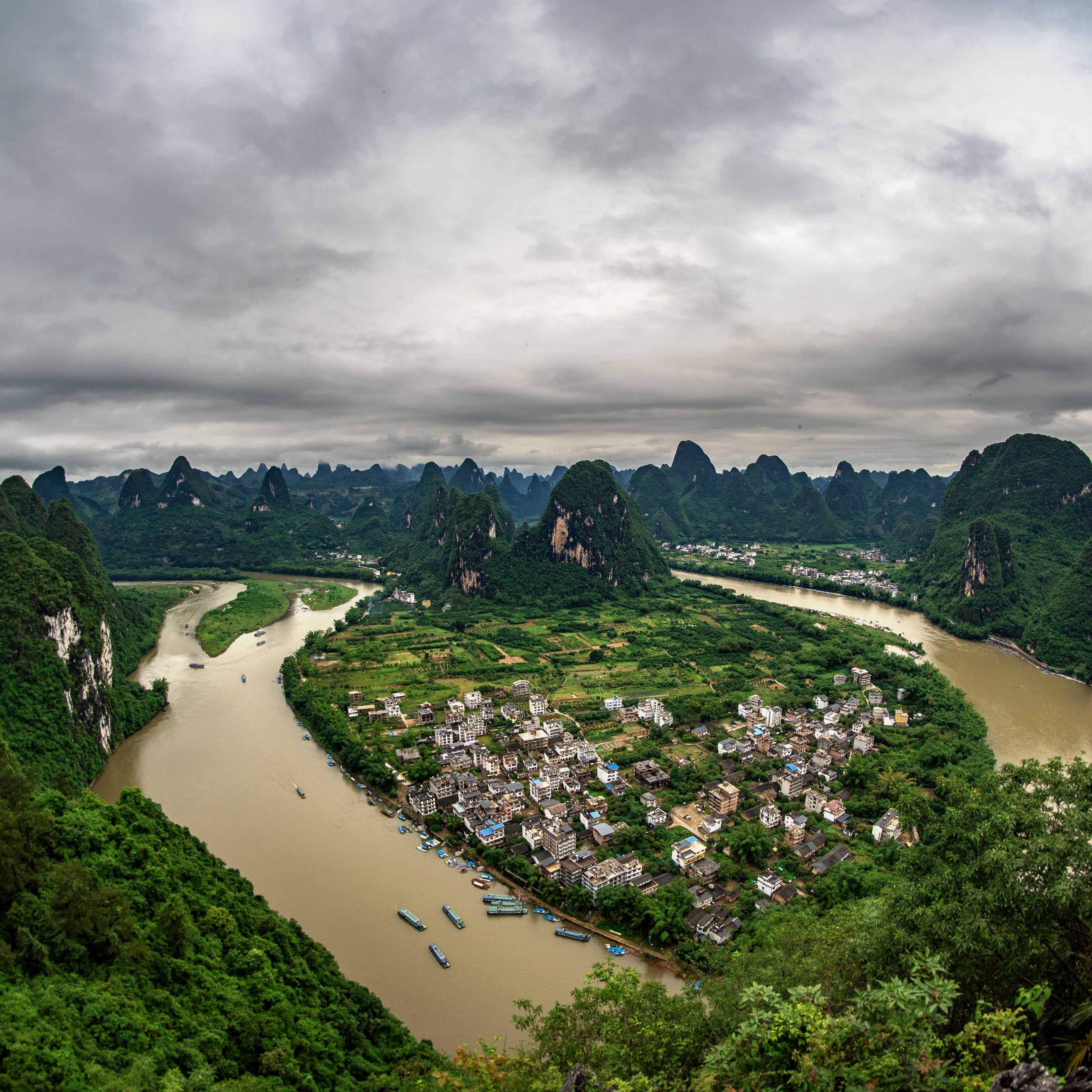 Overview over Xingping