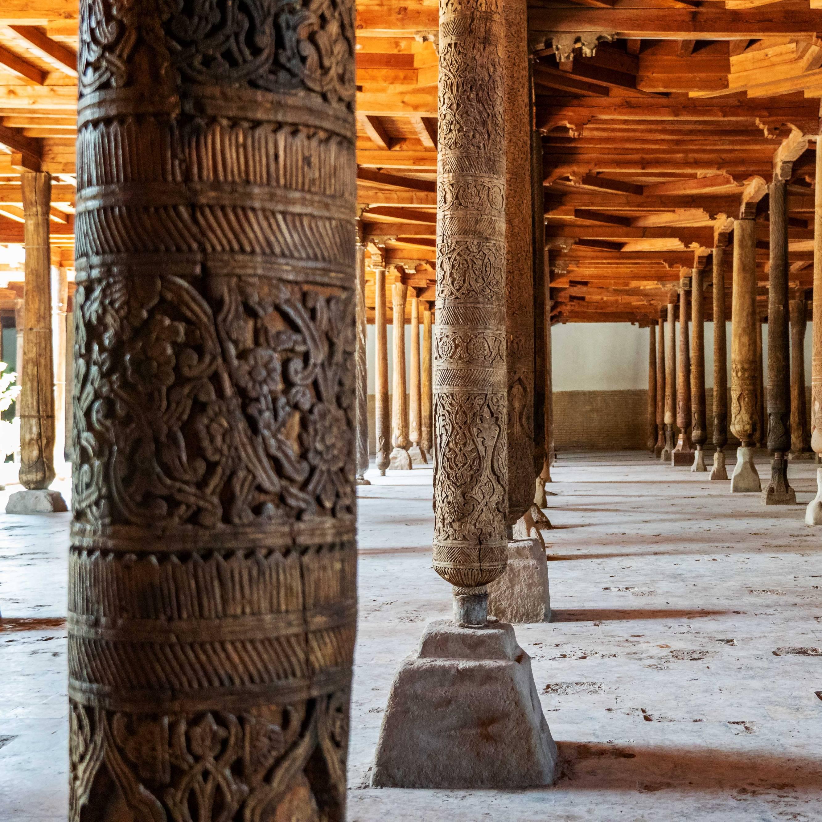 Juma masjid in Xiva