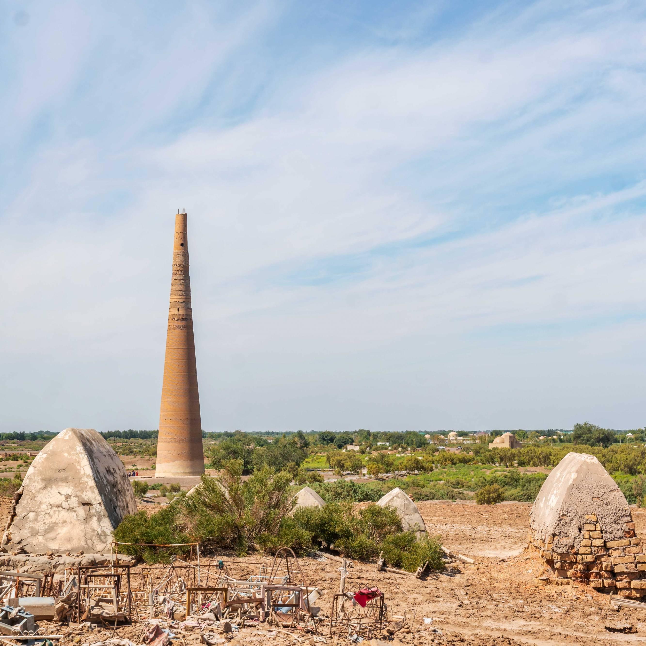 Highest ancient minaret in Central Asia, Kunya Urgench