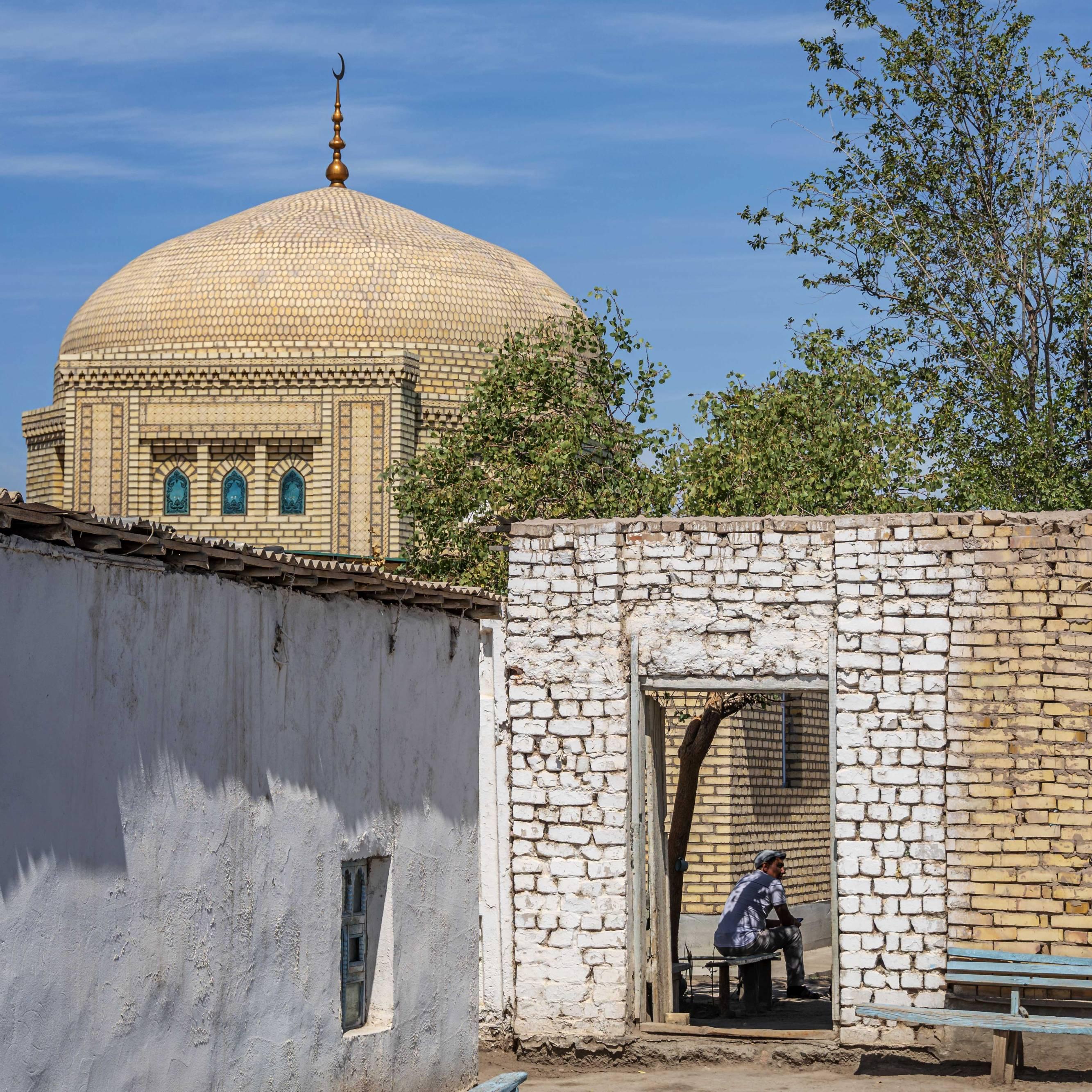 Graveyard Entrance at Kunya Urgench