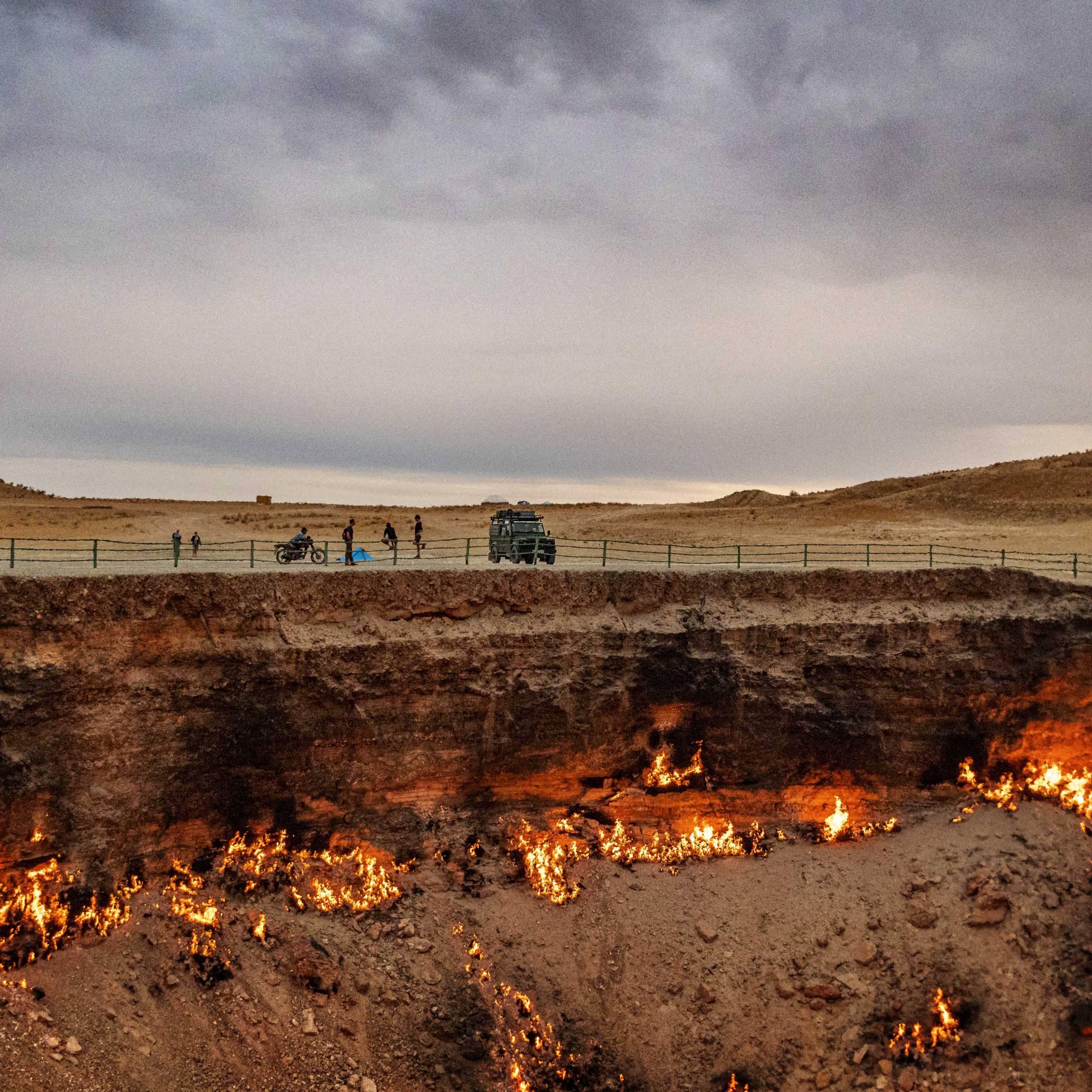 Door to hell, Darvaza gas krater