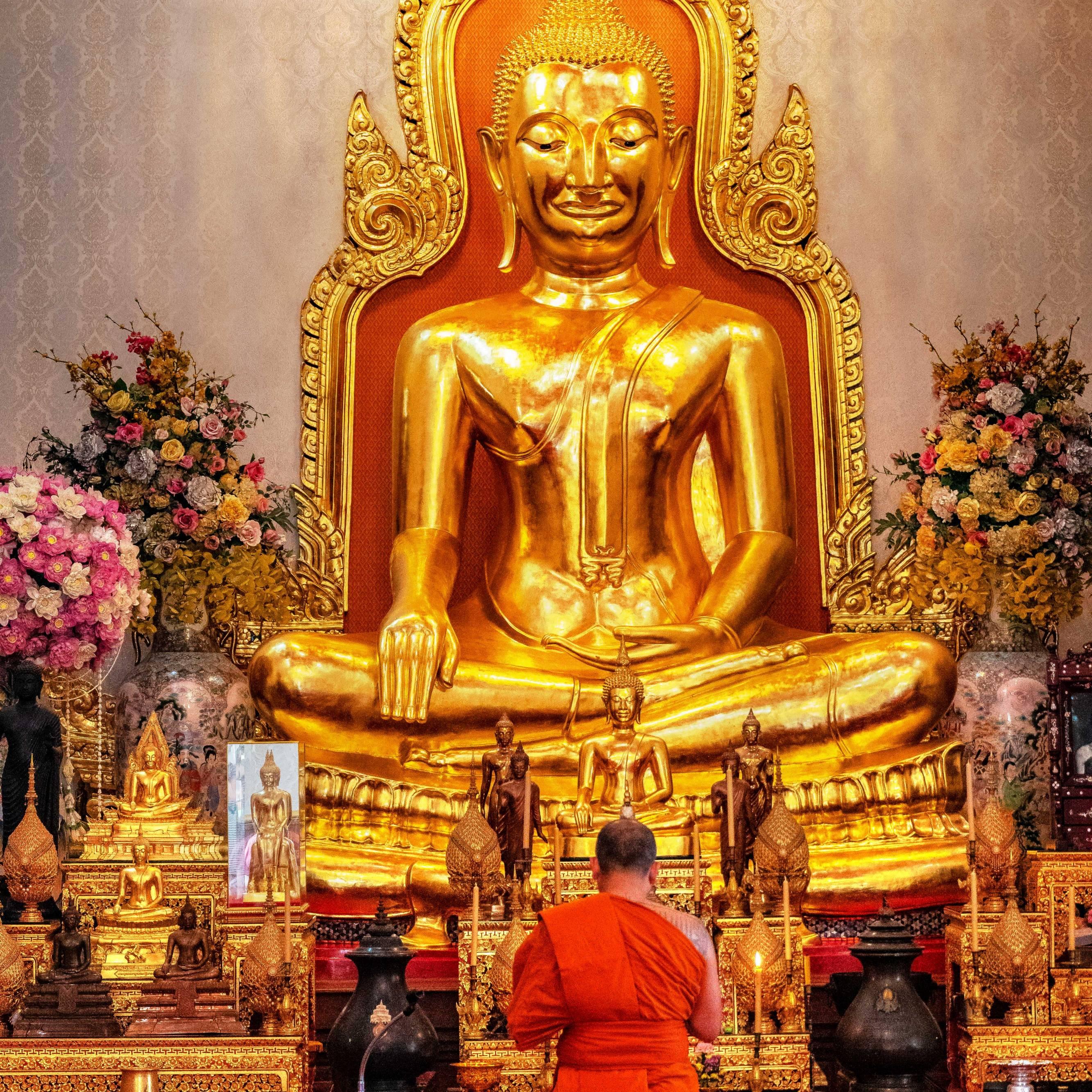 THE GOLDEN BUDDHA TEMPLE, BANGKOK