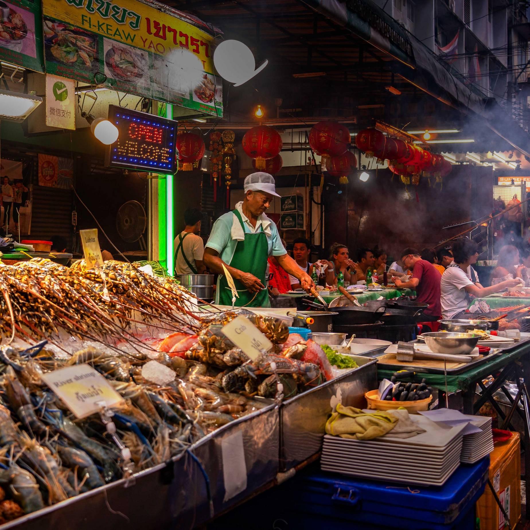 CHINA TOWN NIGHT MARKET, BANGKOK